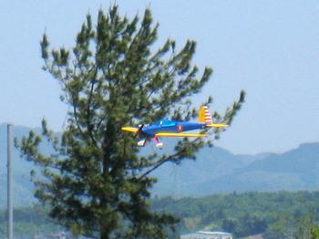 エンストで滑空するアクロスター