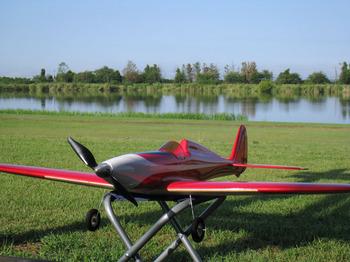水辺飛行場のSilky Wind 400S