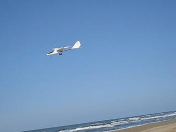 浜辺のフライト