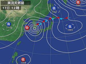9月17日天気図